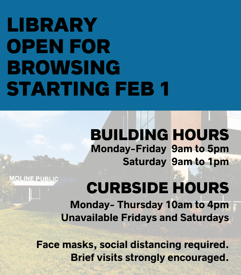 Library Reopening - February 1
