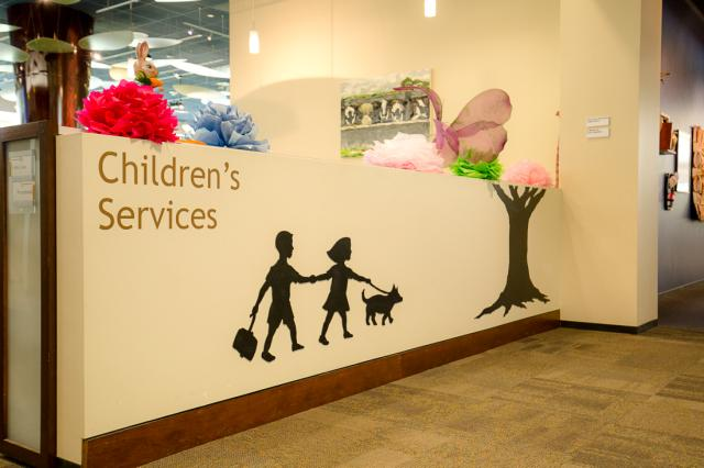 childrens services sign