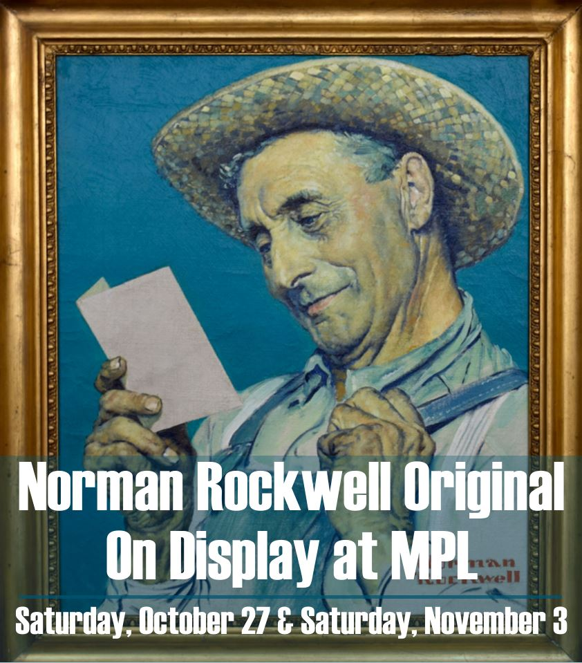 Norman Rockwell Original on Display