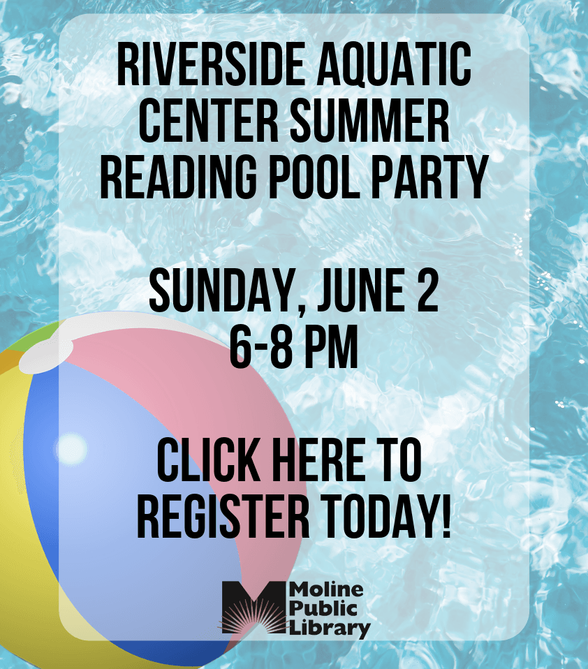 Summer Reading Kick Off Pool Party