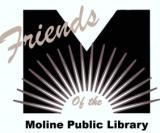 Friends of the Moline Public Library Logo